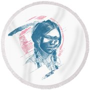 Donoma Round Beach Towel