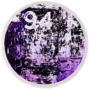 Door 94 Perception Round Beach Towel by Bob Orsillo