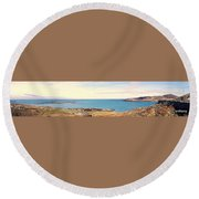 Dooy Rossguile ,donegal ,ireland  Round Beach Towel