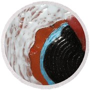 Doreen - Tile Round Beach Towel