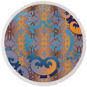 Doro Dallas Round Beach Towel