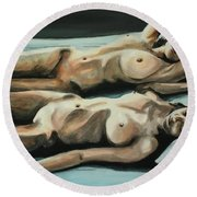Double Bed Round Beach Towel