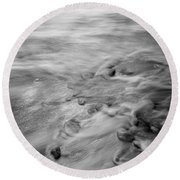 Dp Stone Impressions 27 Round Beach Towel
