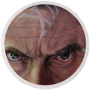 Dr. Who Round Beach Towel