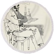 Dr. William Dunlop, 1792 Round Beach Towel
