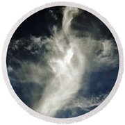 Dragon Cloud Round Beach Towel