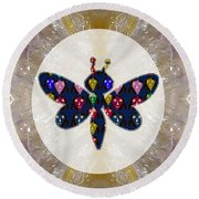 Dragon Fly Cute Painted Face Cartons All Over Donwload Option Link Below Personl N Commercial Uses Round Beach Towel