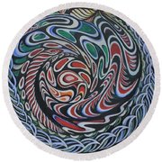 Dragon's Eye Round Beach Towel