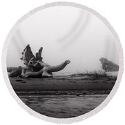 Dragonwood II Round Beach Towel