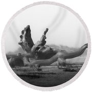 Dragonwood Round Beach Towel