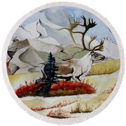 Dream Hunt Round Beach Towel