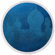 Dream N Three Round Beach Towel