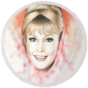 Dream Of Jeannie Round Beach Towel