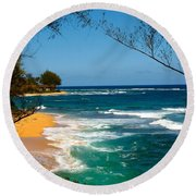 Dream On Round Beach Towel