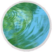 Dream Pool Round Beach Towel by Donna Blackhall