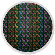 Dream Reflections 07 Round Beach Towel
