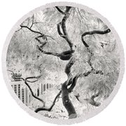 Dream Tree Round Beach Towel