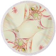 Dreaming Fantasy Round Beach Towel