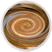 Dreaming In Hopi Land Round Beach Towel