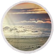 Dreaming Of My Fairytale Round Beach Towel