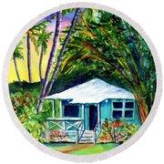 Dreams Of Kauai 2 Round Beach Towel