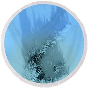 Dreams Of The Sea 2 Round Beach Towel