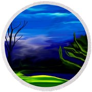 Dreamscape 062310 Round Beach Towel