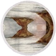 Dreamscape Round Beach Towel