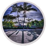 Dreamscapes Round Beach Towel