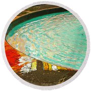Dreamtime Round Beach Towel