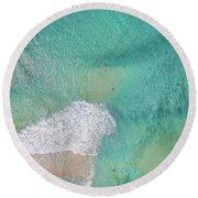Dreamy Pastels Round Beach Towel