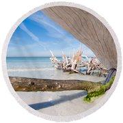 Driftwood C141347 Round Beach Towel