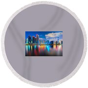 Dubai Round Beach Towel