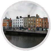 Dublin_2 Round Beach Towel