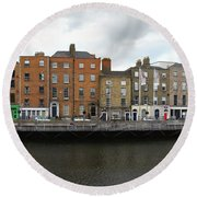 Dublin_3 Round Beach Towel