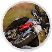 Ducati Round Beach Towel