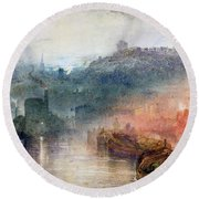 Dudley Worcester Round Beach Towel by Joseph Mallord William Turner