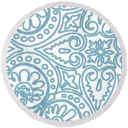 Dulce Round Beach Towel