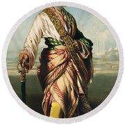Duleep Singh, Maharajah Of Lahore Round Beach Towel