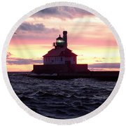 Duluth Dreaming Round Beach Towel
