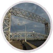 Duluth Lift Bridge 2 Round Beach Towel