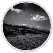 Dune Valley Round Beach Towel