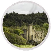 Dunvegan Castle Round Beach Towel