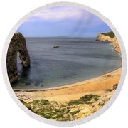 Durdle Door Round Beach Towel