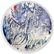 Duress Round Beach Towel