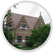 Dutch Building - Henlopen Round Beach Towel