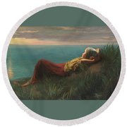 Dutch  Dreams  Round Beach Towel