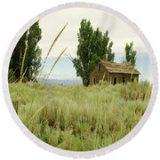 Dyer Country Home Round Beach Towel
