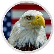 Eagle 6 Round Beach Towel