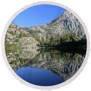 Eagle Lake Wilderness Round Beach Towel